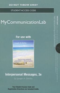 NEW MyCommunicationLab -- Standalone Access Card -- Interpersonal Messages