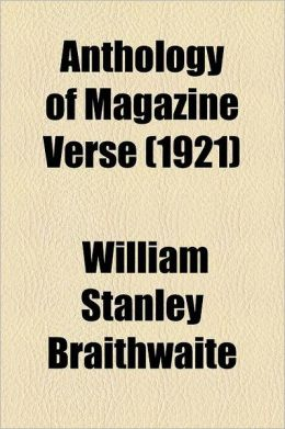 Anthology Of Magazine Verse (1921)