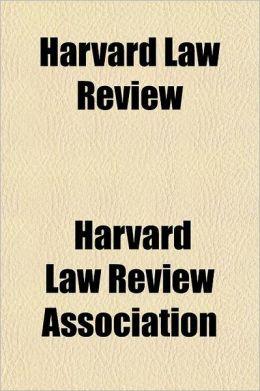 Harvard Law Review Volume 19
