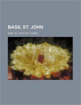Basil St. John