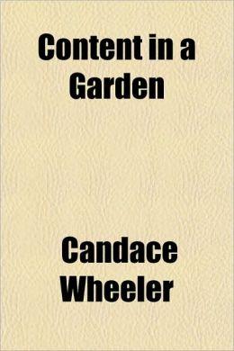 Content In A Garden