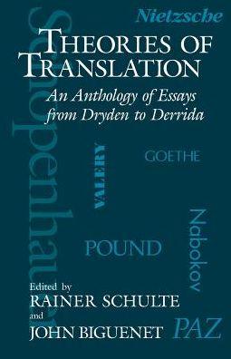 Theories of Translation;