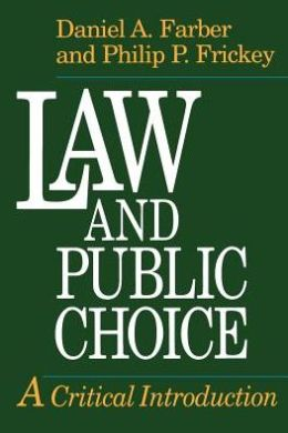 Law and Public Choice: A Critical Introduction