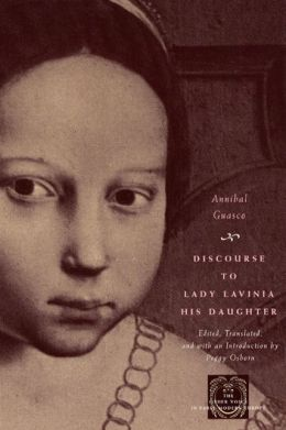Discourse to Lady Lavinia, His Daughter