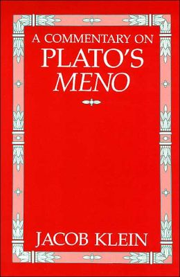 A Commentary on Plato's Meno