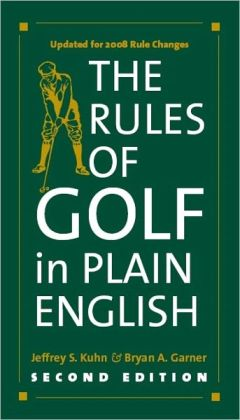 Rules of Golf in Plain English