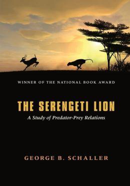 Serengeti Lion: A Study of Predator-Prey Relations