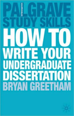 ... book 'How to Complete and Survive a Doctoral Dissertation