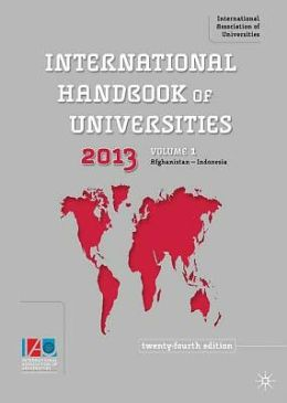 The International Handbook of Universities