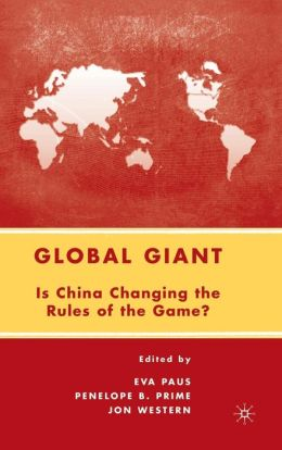 Global Giant: Is China Changing the Rules of the Game?