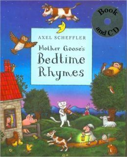 Mother Goose's Bedtime Rhymes: Book & CD Pack