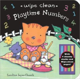 Wipe Clean - Playtime Numbers