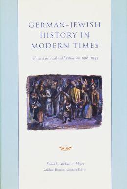 German-Jewish History in Modern Times
