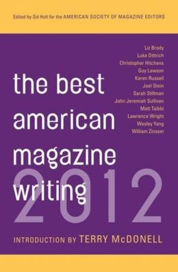 Best American Magazine Writing 2012