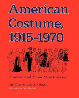 American Costume, 1915-1970