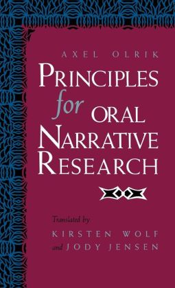 Principles for Oral Narrative Research
