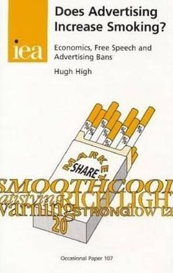 Does Advertising Increase Smoking?: Economics, Free Speech and Advertising Bans