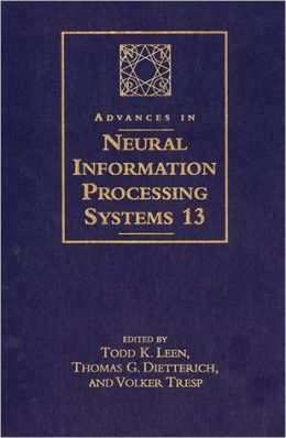 Advances in Neural Information Processing Systems 13: Proceedings of the 2000 Conference