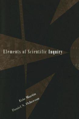 Elements of Scientific Inquiry
