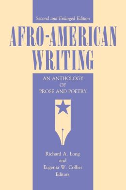 Afro-American Writing: An Anthology of Prose and Poetry