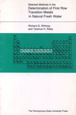 Selected Methods in the Determination of First Row Transition Metals in Natural Fresh Water