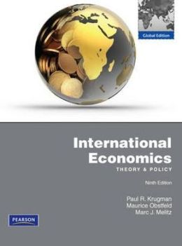 International Economics, 9th edition: Theory & Policy