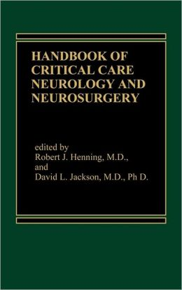 Handbook Of Acute Critical Care Neurology