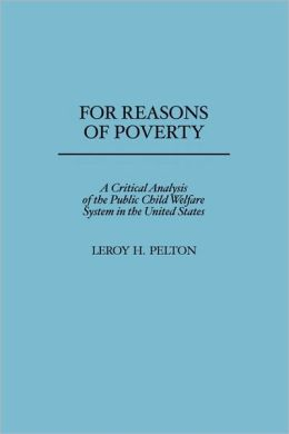 For Reasons Of Poverty