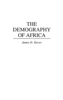 The Demography of Africa