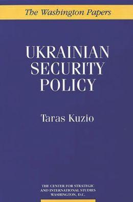 Ukrainian Security Policy