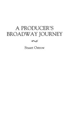 A Producer's Broadway Journey