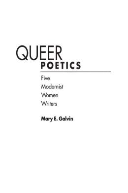 Queer Poetics: Five Modernist Women Writers