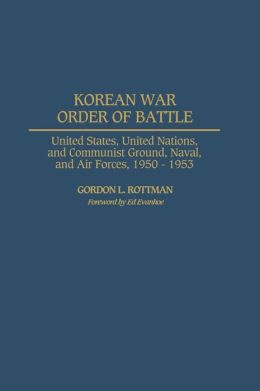 Korean War Order Of Battle