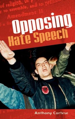 Opposing Hate Speech