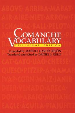 Comanche Vocabulary