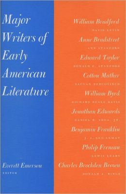 Major Writers of Early American Literature: Introductions to Nine Major Writers