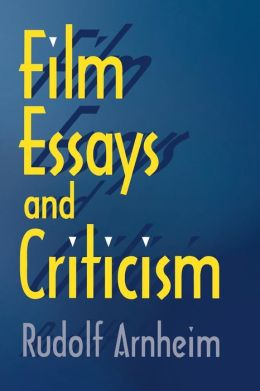 Film Essays and Criticism