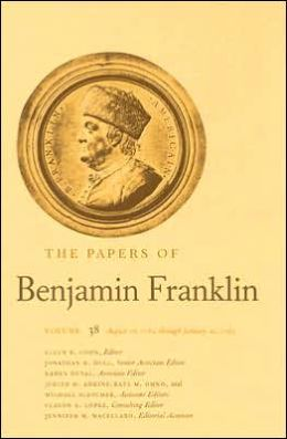 The Papers of Benjamin Franklin, Volume 38: August 16, 1782, through January 20, 1783