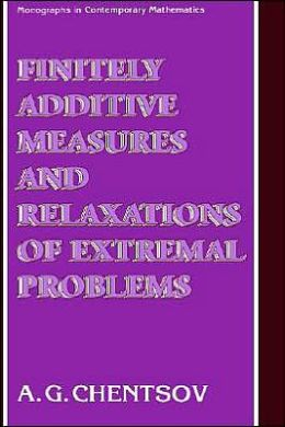Finitely Additive Measures and Relaxations of Extremal Problems
