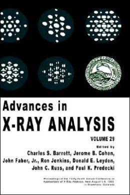 Advances in X-Ray Analysis: Volume 29