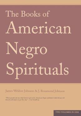 Books of American Negro Spirituals