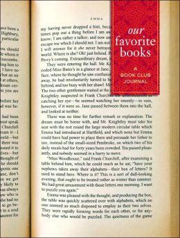 Our Favorite Books Book Club Journal 6 x 8