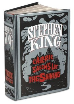 Stephen King: Three Novels (Barnes & Noble Leatherbound Classics Series)