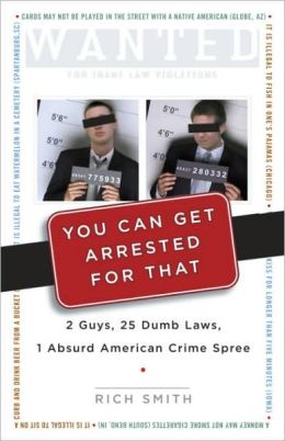 You Can Get Arrested for That: 2 Guys, 25 Dumb Laws, 1 Absurd American Crime Spree