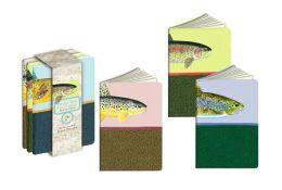 Fly-Fishing Pocket Size Note Pads Set of 4