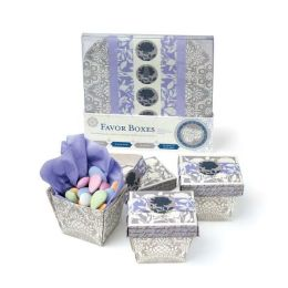 Silver and Wedgwood Favor Boxes: Everything You Need to Package Perfect Party Treats