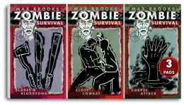 Zombie Survival Mini Note Pads