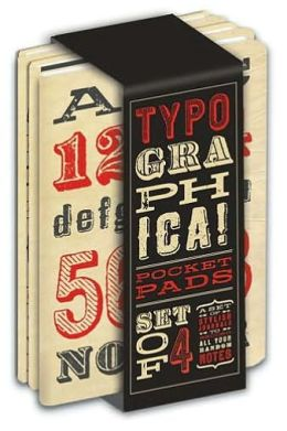 Typographica Pocket Pads