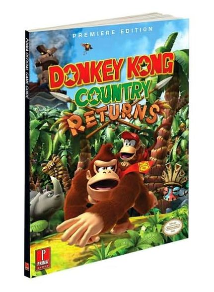 Donkey Kong Country Returns: Prima Official Game Guide