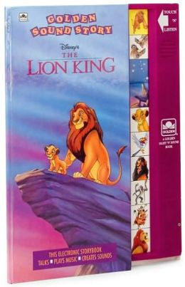 The Lion King (Golden Sound Story Book Series)